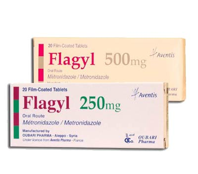 Metronidazole Tablets 500mg . Women: 400mg twice a day for 7 days, or 2g as   a single dose for 1 day only. Adolescent girls: 400mg twice daily for 5 to 7 days