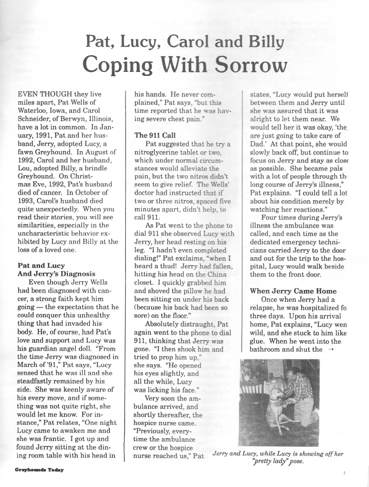 Coping with sorrow 1