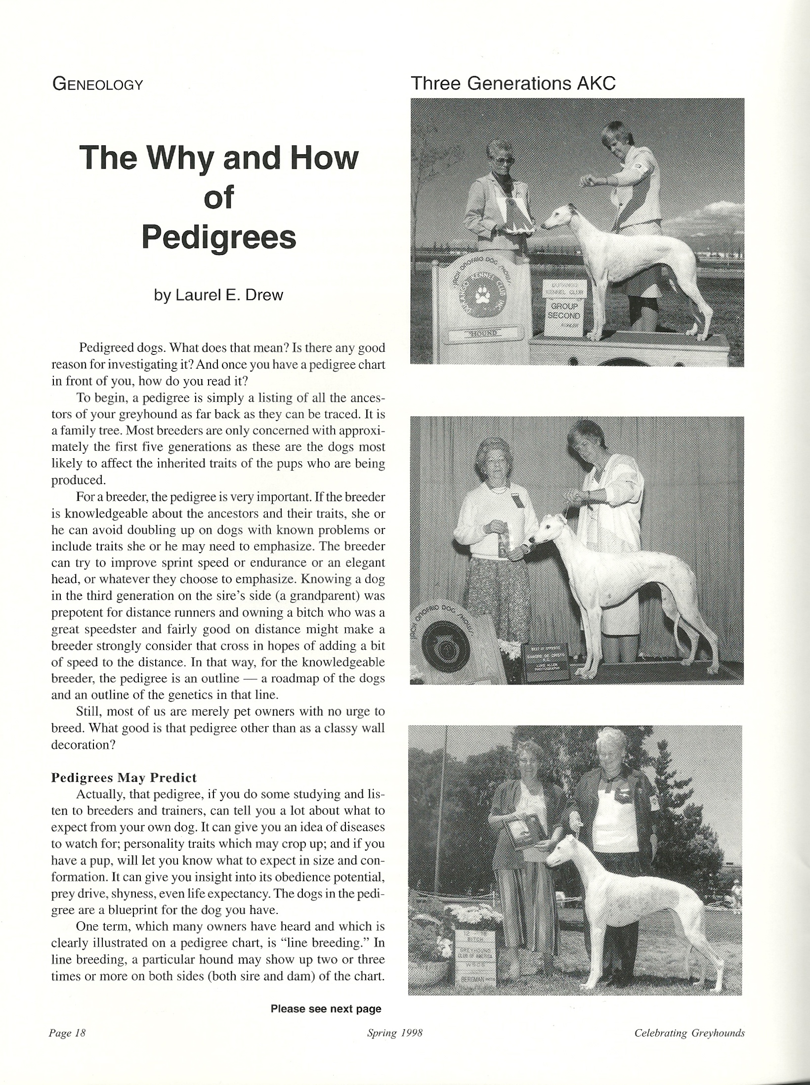 The Why and How of Pedigrees and How to Read a Pedigree Chart ...