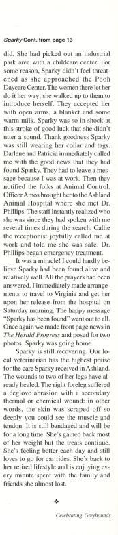 Prudente Sparky's Story 3