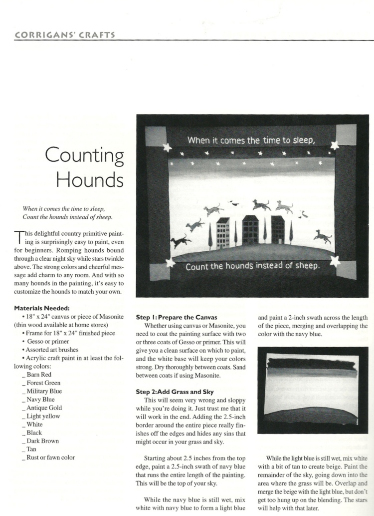 Corrigans Counting Hounds 1